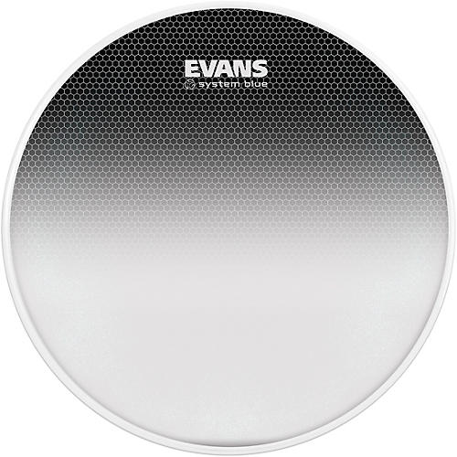 Evans System Blue Marching Tenor Drum Head 14 in.-thumbnail