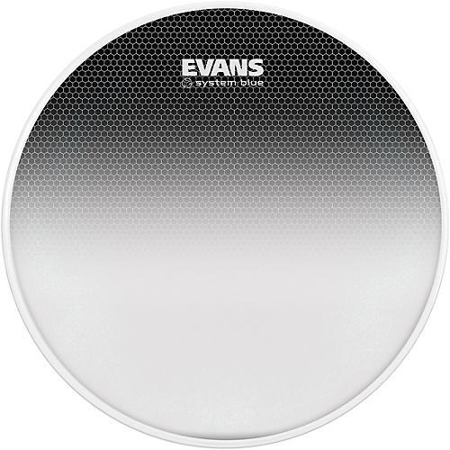 Evans System Blue Marching Tenor Drum Head-thumbnail