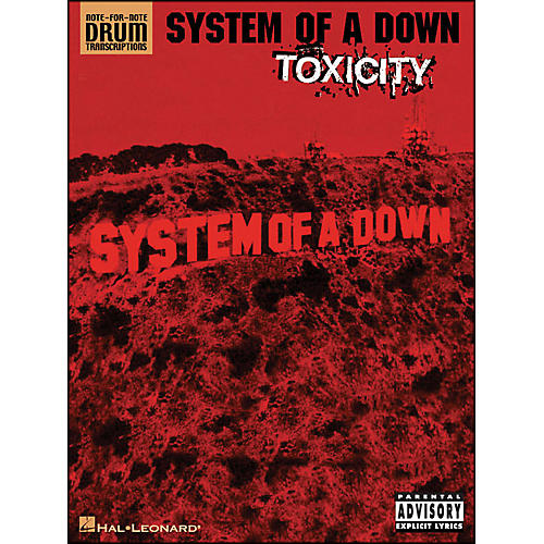 Hal Leonard System Of A Down Toxicity Note for Note Drum Transcriptions-thumbnail