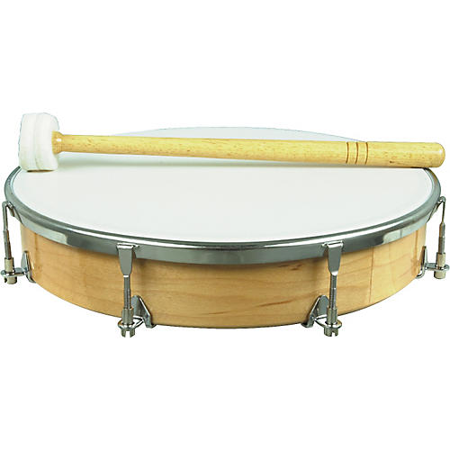 Pulse T-210H Hand Drum with Beater-thumbnail