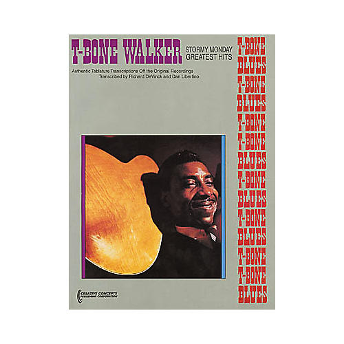 Creative Concepts T-Bone Walker - Vital Blues Guitar Tab Book