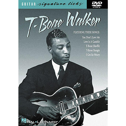 Hal Leonard T-Bone Walker Signature Licks (DVD)