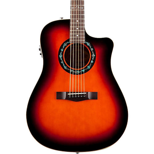 Fender T-Bucket 100-CE Acoustic-Electric Guitar-thumbnail