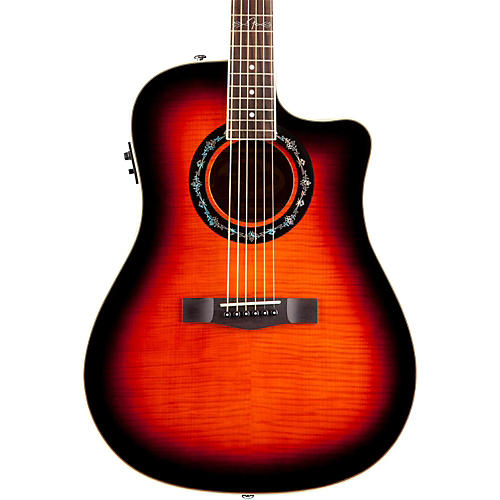 fender t bucket 300 ce cutaway acoustic electric dreadnought guitar sunburst guitar center. Black Bedroom Furniture Sets. Home Design Ideas
