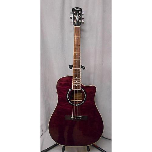 Fender T Bucket 400CE Acoustic Electric Guitar-thumbnail