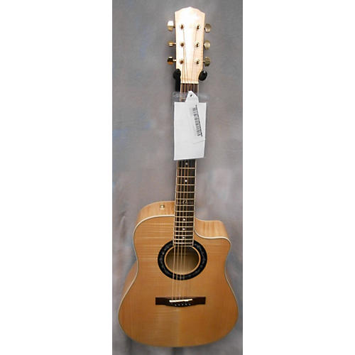 Fender T Bucket 400CE Natural Acoustic Electric Guitar-thumbnail