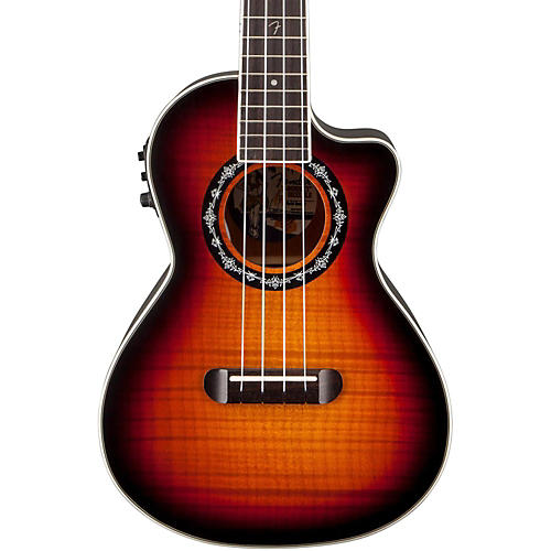 Fender T-Bucket Acoustic-Electric Ukulele
