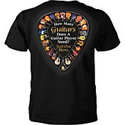 "Taboo T-Shirt ""Just One More Guitar"""