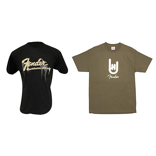Fender T-Shirt Package