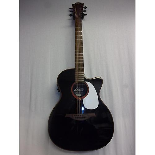 used lag guitars t100ace acoustic guitar black guitar center. Black Bedroom Furniture Sets. Home Design Ideas