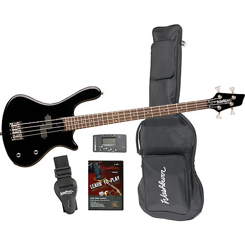 Washburn T12 Bass Guitar with Accessories