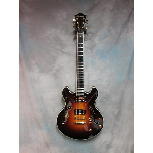 Eastman T185mx-sb Hollow Body Electric Guitar