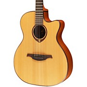 Lag Guitars T200ACE Auditorium Cutaway Acoustic-Electric Guitar