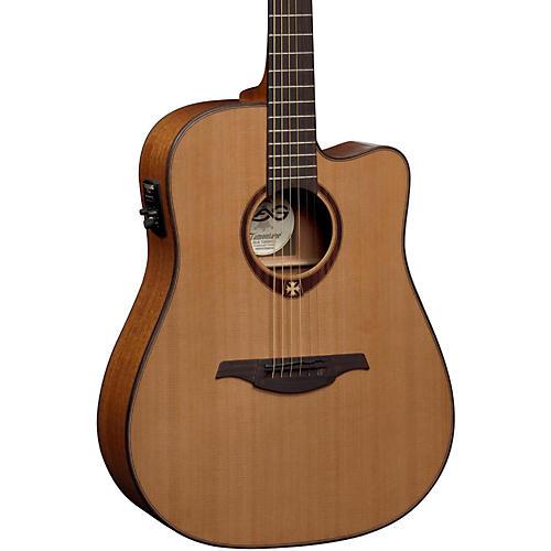 Lag Guitars T200DCE Dreadnought Cutaway Acoustic-Electric Guitar