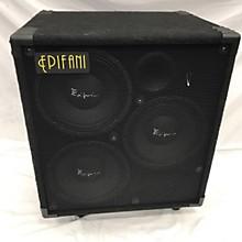 Epifani T310 3X10 Cabinet W/ Tweeter Bass Cabinet