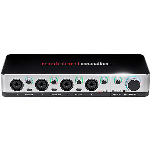 Resident Audio T4 Four-Channel Thunderbolt Interface-thumbnail