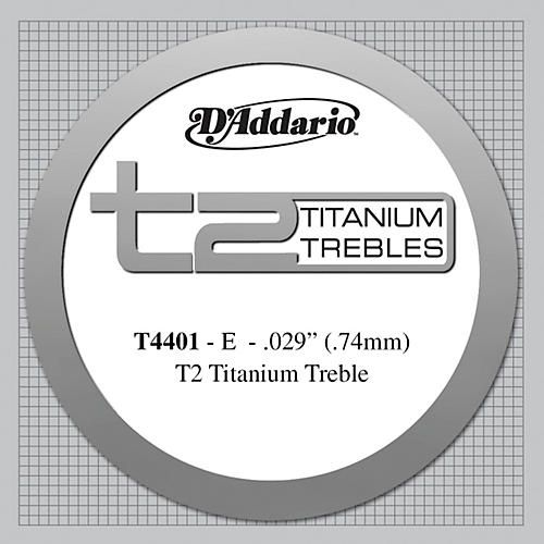 D'Addario T4401 T2 Titanium X-Hard Single Classical Guitar String-thumbnail
