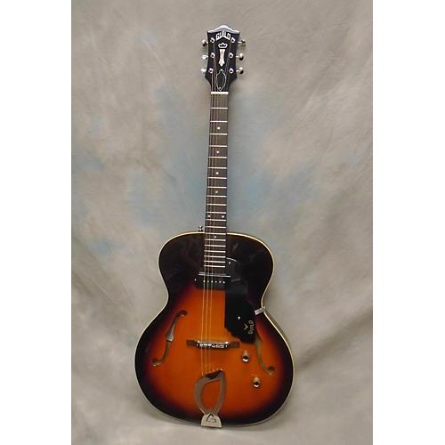 Guild T50 Slim Hollow Body Electric Guitar-thumbnail