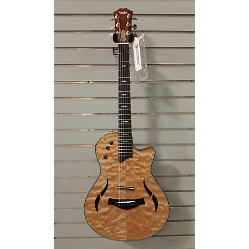 used taylor t5z pro qm ltd acoustic electric guitar. Black Bedroom Furniture Sets. Home Design Ideas