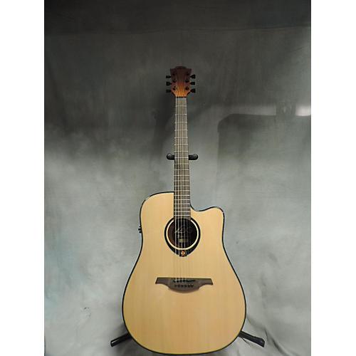 used lag guitars t66dce acoustic electric guitar guitar center. Black Bedroom Furniture Sets. Home Design Ideas