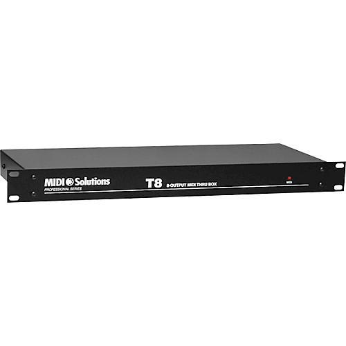 MIDI Solutions T8 8-Output Active MIDI Thru Box