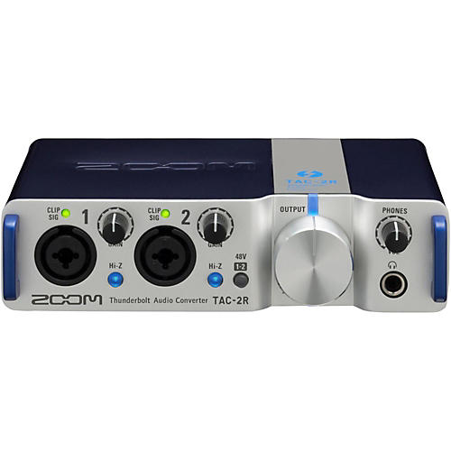 Zoom TAC-2R Two Channel Thunderbolt Interface-thumbnail