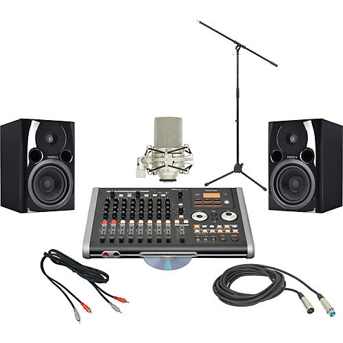 Tascam TASCAM DP-02FX/CD Recording Package-thumbnail