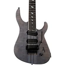 TAT Special 7 FM 7-String Electric Guitar Transparent Black Stain