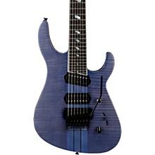 TAT Special 7 FM 7-String Electric Guitar Transparent Blue Berry