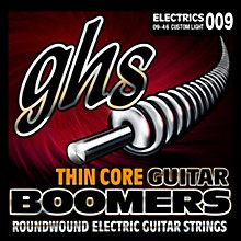 GHS TC-GBCL Thin Core Boomers Custom Light Electric Guitar Strings (9-46)
