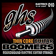 GHS TC-GBL Thin Core Boomers Light Electric Guitar Strings (10-46)