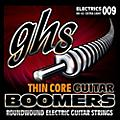 GHS TC-GBXL Thin Core Boomers Extra Light Electric Guitar Strings (9-42)-thumbnail