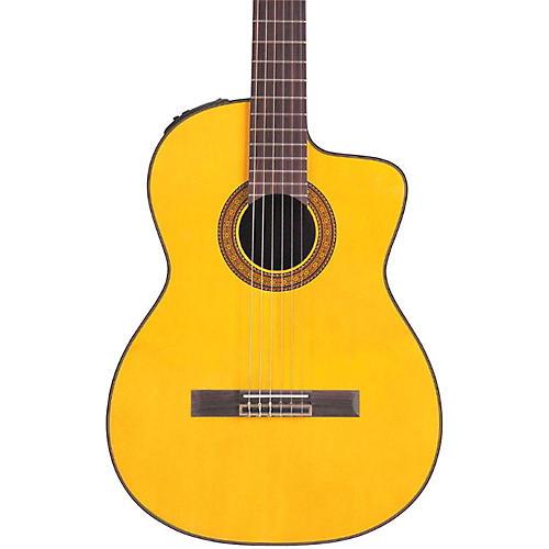 Takamine TC132SC Acoustic-Electric Nylon String Guitar Natural