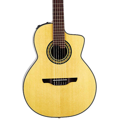 Takamine TC135SC Classical 24-Fret Cutaway Acoustic-Electric Guitar Natural