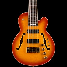 "Ibanez TCB1006 Stephen ""Thundercat"" Bruner Signature Electric Bass Guitar Autumn Leaf Burst"