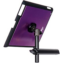 On-Stage Stands TCM9160P Purple Tablet Mounting System with Snap-On Cover Level 1 Purple