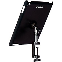 On-Stage Stands TCM9163 Quick Disconnect Table Edge Tablet Mounting System with Snap-On Cover Level 1 Black