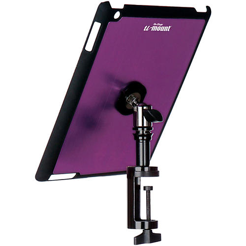 On-Stage Stands TCM9163 Quick Disconnect Table Edge Tablet Mounting System with Snap-On Cover-thumbnail