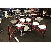 Roland TD-10 RED FADE W/ TD-25 MODULE Electric Drum Set