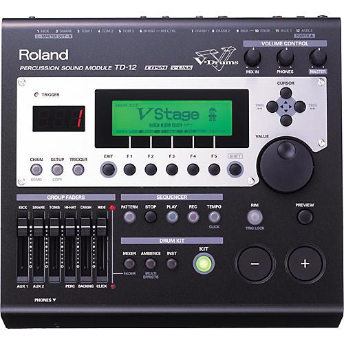 Roland TD-12 COSM-modeling drum module-thumbnail