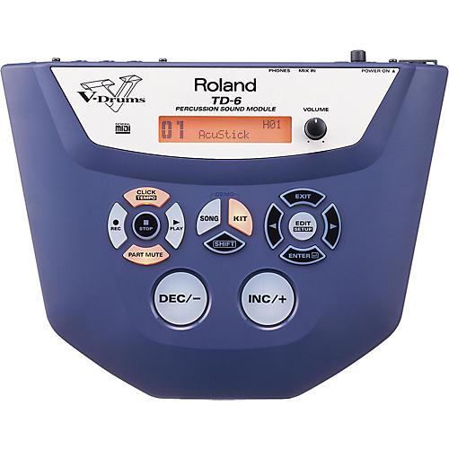 Roland TD-6 Percussion Sound Module-thumbnail