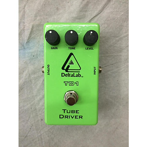 Deltalab TD1 Tube Driver Effect Pedal-thumbnail