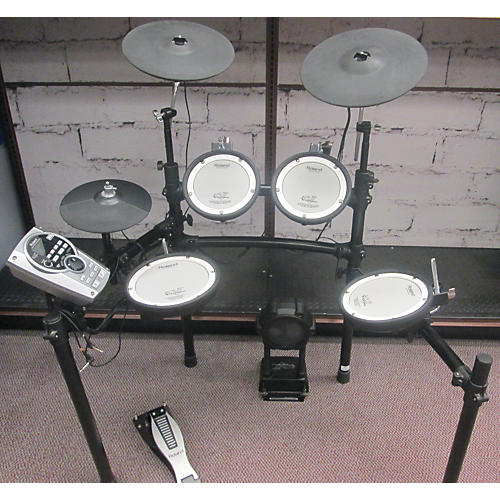 used roland td15 electric drum set guitar center. Black Bedroom Furniture Sets. Home Design Ideas