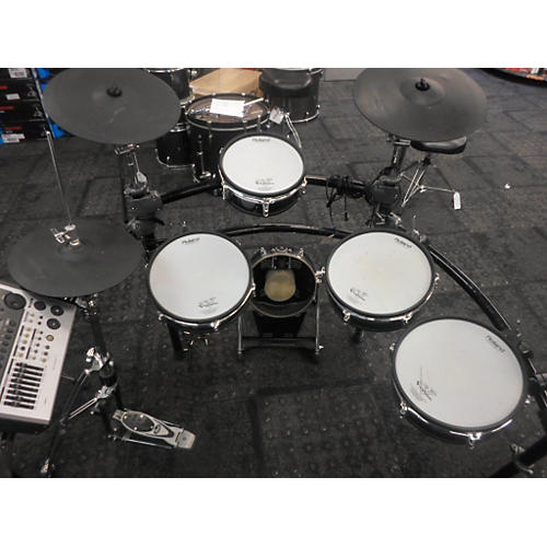used roland td20 electronic drum set guitar center