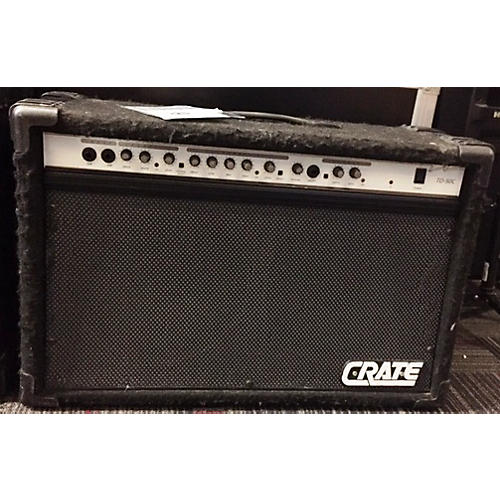 used crate td50c 2x12 chorus guitar combo amp guitar center. Black Bedroom Furniture Sets. Home Design Ideas