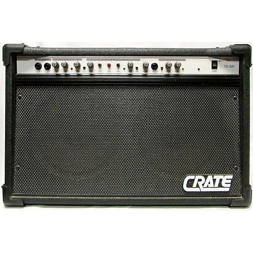 used crate td50c guitar combo amp guitar center. Black Bedroom Furniture Sets. Home Design Ideas