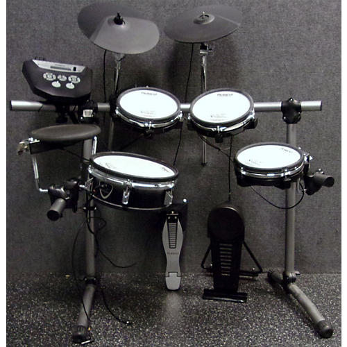 used roland td6v electric drum set guitar center. Black Bedroom Furniture Sets. Home Design Ideas