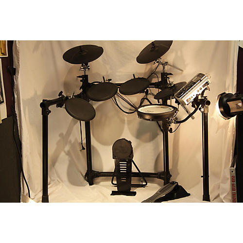 used roland td9 electric drum set guitar center. Black Bedroom Furniture Sets. Home Design Ideas
