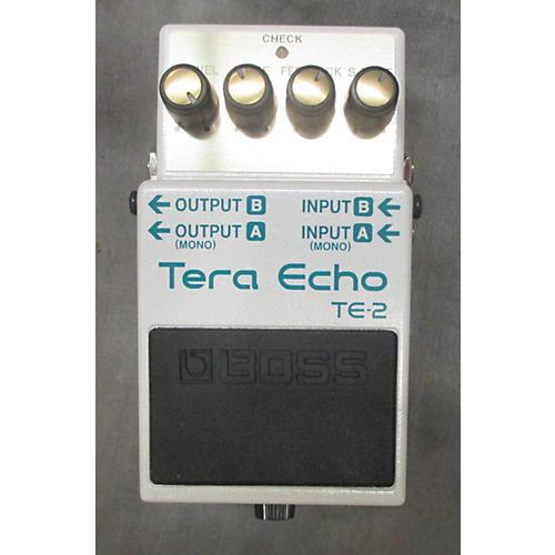 Boss TE2 Tera Echo Effect Pedal
