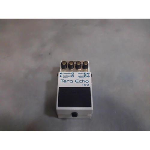 Boss TE2 Tera Echo Effect Pedal-thumbnail